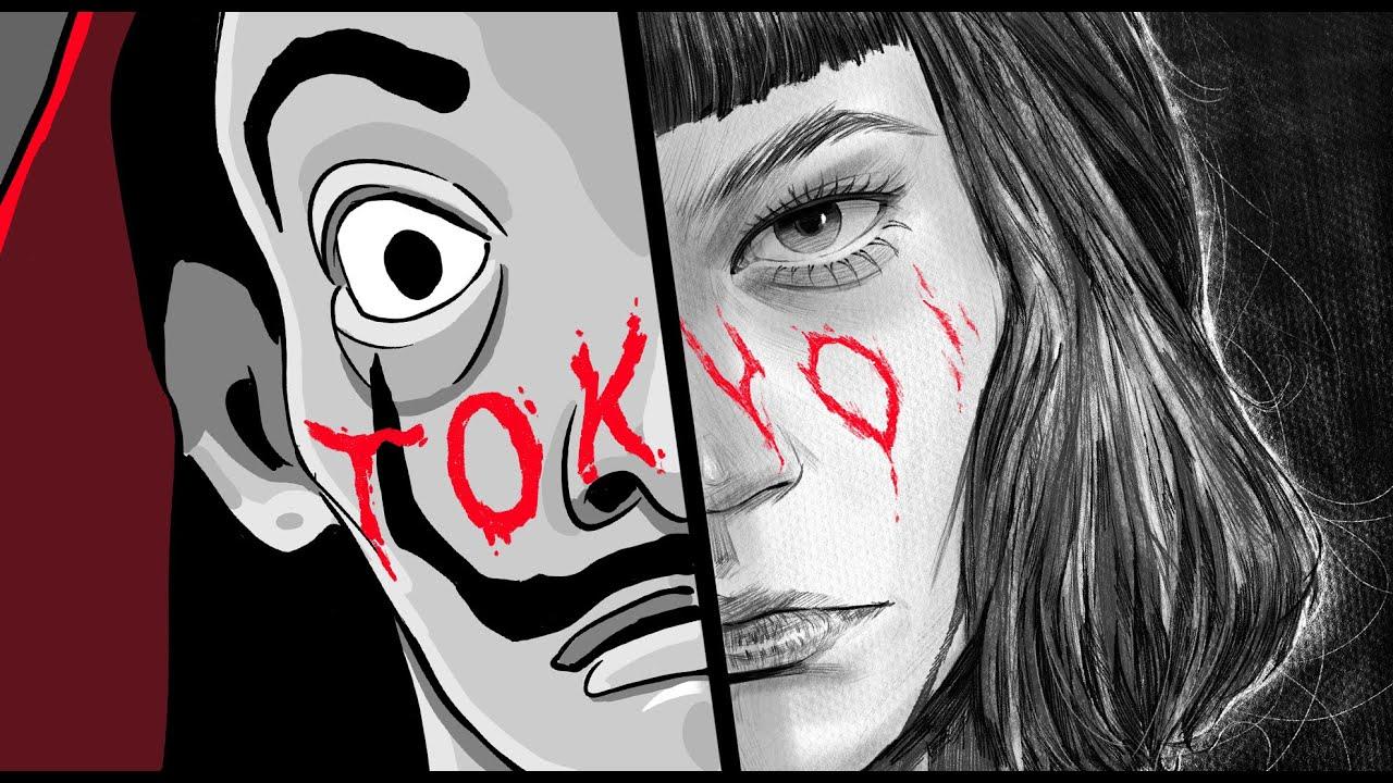 Tokyo Drawing - Money heist(La Casa de Papel) - YouTube