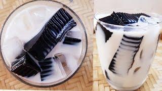 Thạch Sương Sáo sữa tươi ||  ngon mát cho ngày nóng|| Thanh Tâm Food