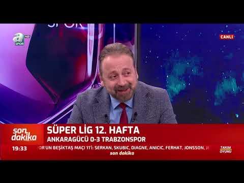 Ankaragücü 0 - 3 Trabzonspor Zeki Uzundurukan Maç Sonu Yorumları / A Spor