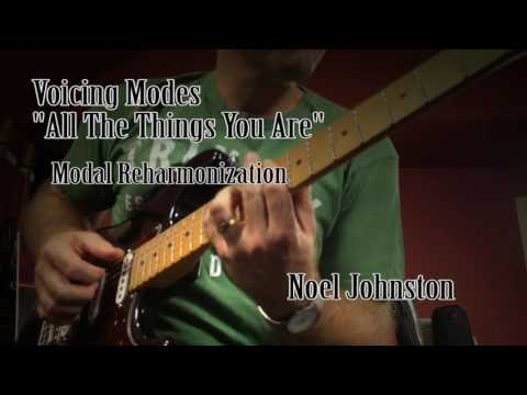 All The Things You Are. Modal Reharmonization
