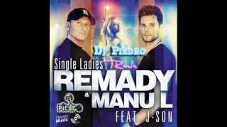 Remady & Manu L ft  J-Son - Single Ladies (Dj Piedro Remix)