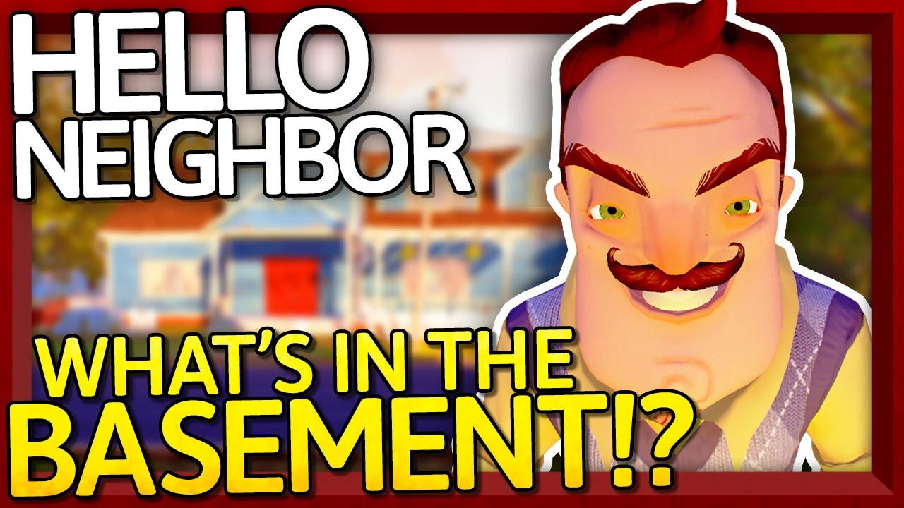 Hello Neighbor What S In The Basement Alpha 2