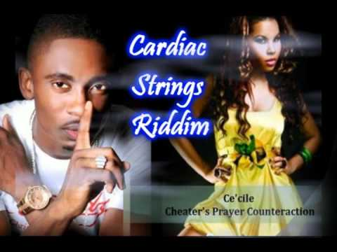 CHRIS MARTIN FEAT CE'CILE - CHEATERS PRAYER -  ( FEMALE VS MALE VERSION ) CADIAC STRINGS RIDDIM 2011