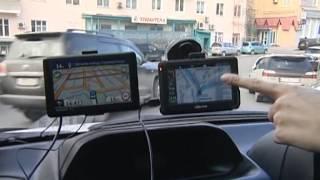 видео GPS-навигатор Navitel A735 (Навител + СитиГид)