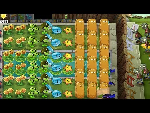 Plants Vs Zombies Supervivencia Modo Difícil