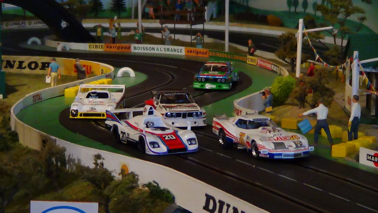 le mans 1976 slot cars scalextric youtube. Black Bedroom Furniture Sets. Home Design Ideas