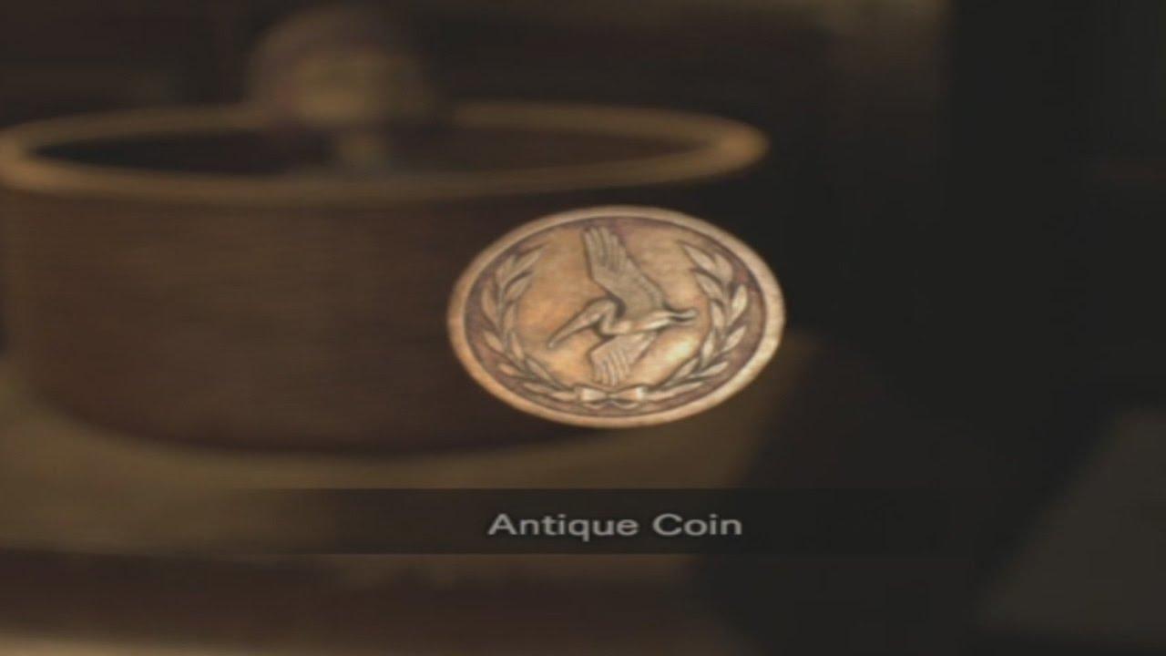 antique coins resident evil