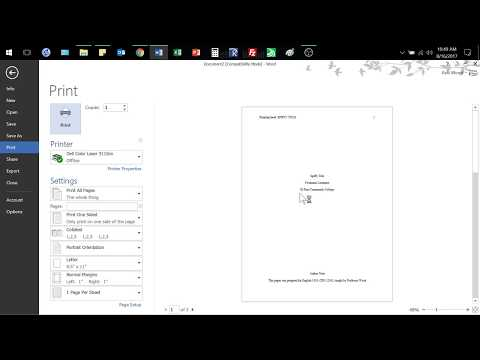 APA Paper Format Using MS Word Template