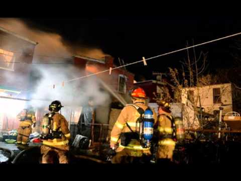 Lancaster PA 4 Alarm Fatal Fire w Mayday & Radio Audio 2/18/13