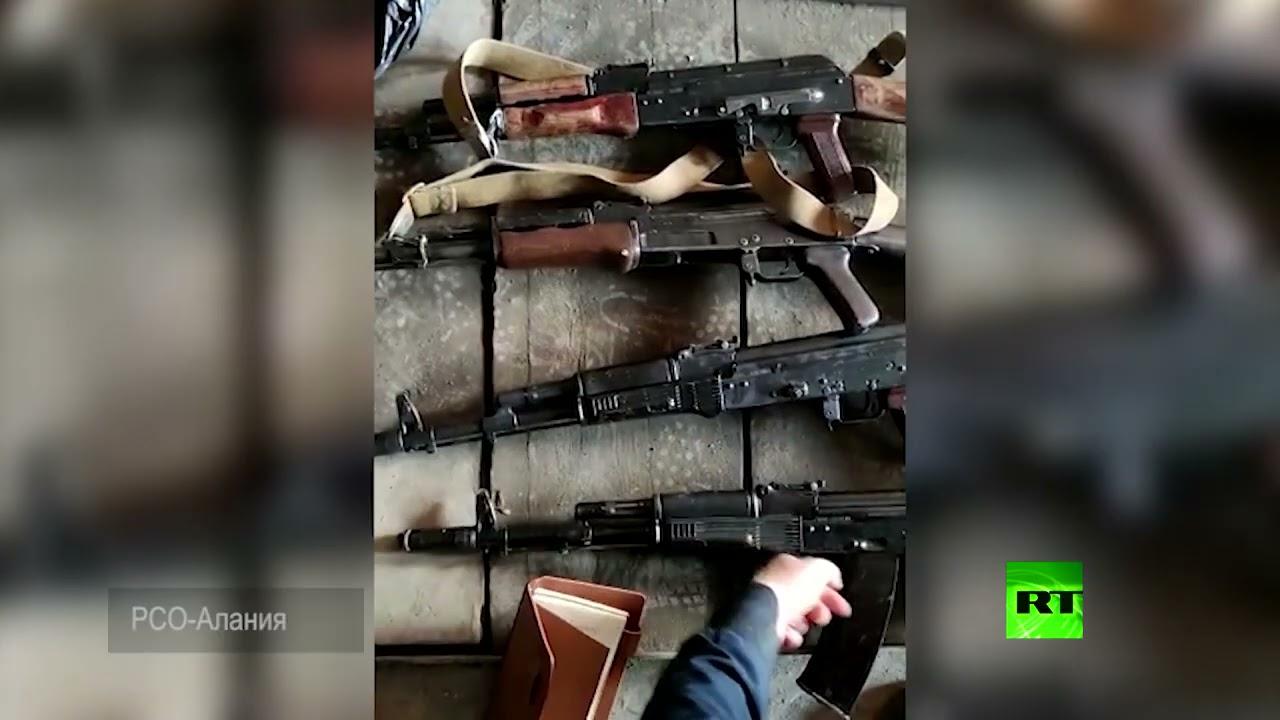 الأمن الروسي يشن حملة على صانعي الأسلحة في الأقبية  - نشر قبل 60 دقيقة