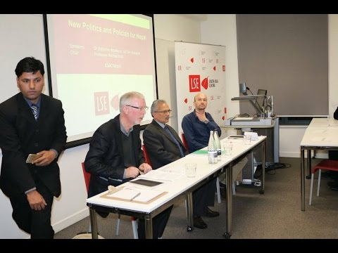 Dr.Baburam Bhattrai at london school of economics and poltical science