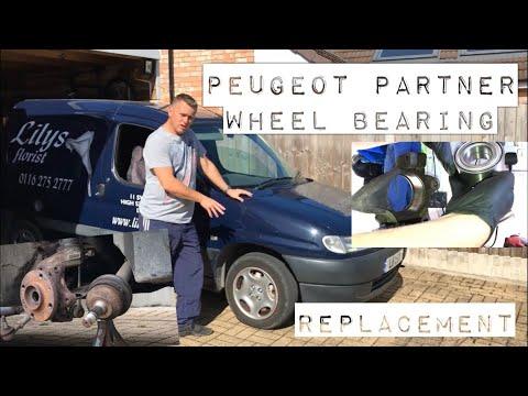 Peugeot Partner Front Wheel Bearing Replacement