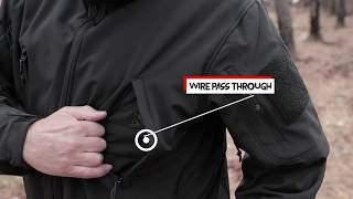 Rothco's Concealed Carry Soft Shell Jacket Features Highlight