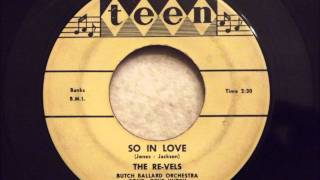 Re-Vels - So In Love - F***ing Incredible Philly Doo Wop Ballad
