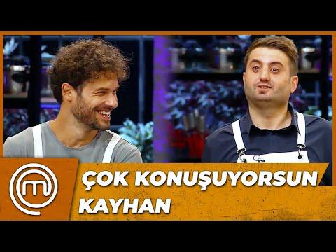KAYHAN İLE WALİSON ARASINDA GÜLDÜREN DİYALOG | MasterChef Türkiye 22. Bölüm