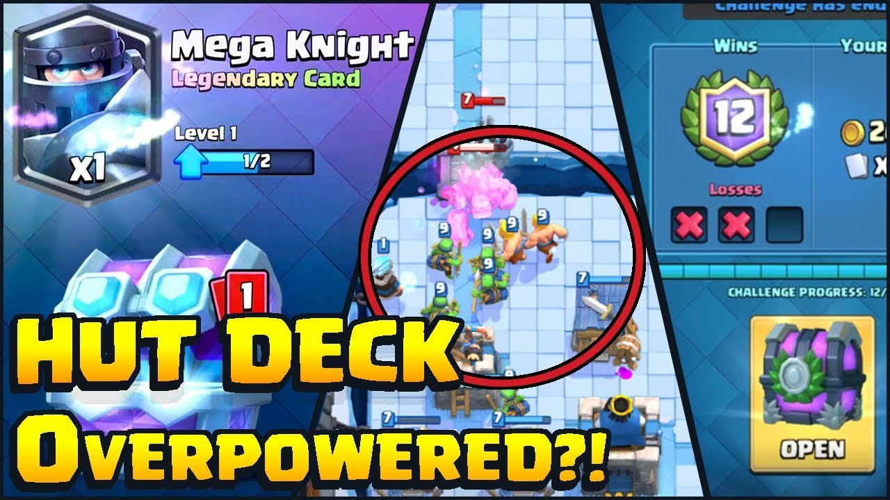 how to make a mega knight deck