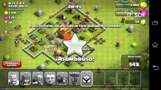 Clash Of Clans/ destruyendo aldea