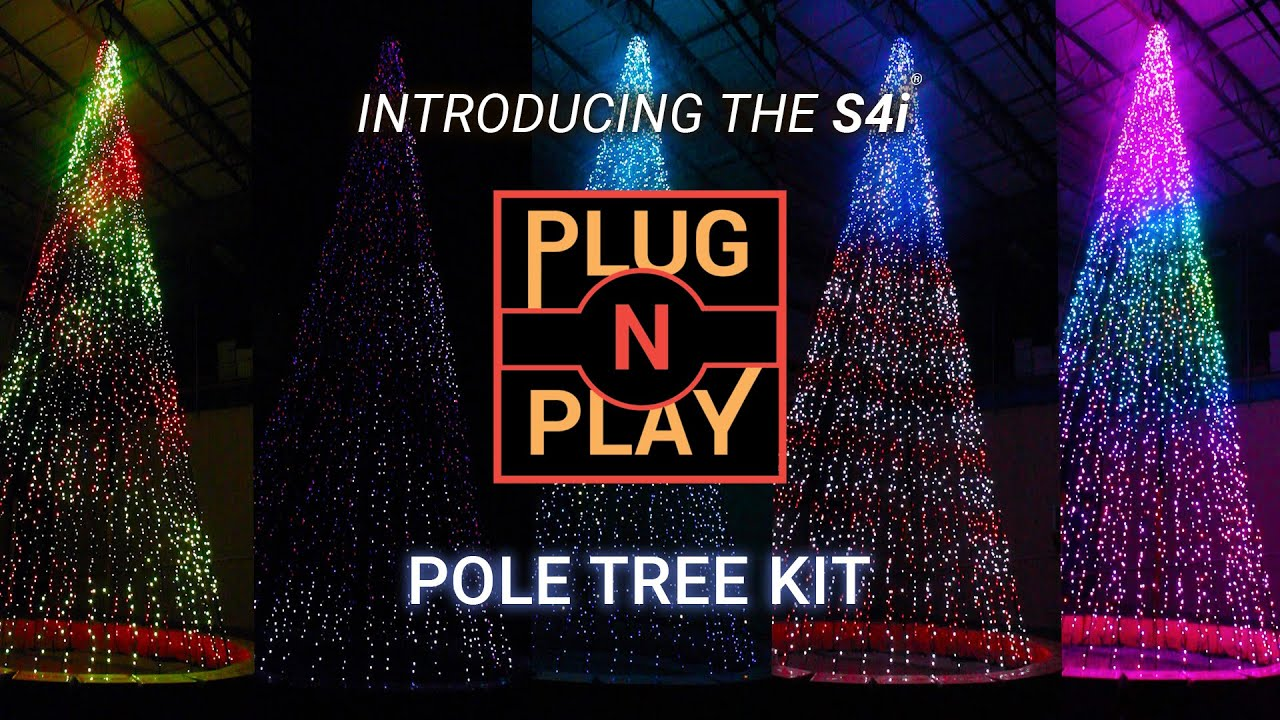 Introducing The S4i® Plug 'n Play Pole Tree Kit