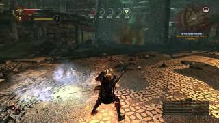 The Witcher 2 - High Level Mage Gameplay - Of His Blood and Bone Quest