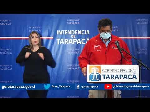 Punto de prensa 13 de julio de 2020 - Gobierno Regional de Tarapacá