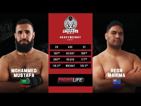 ETERNAL MMA 49 - MOHAMMED MUSTAFA VS REON MAHIMA - MMA FIGHT VIDEO
