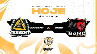 GODSENT vs BarD - Playoffs Season 2   Call of Duty: Mobile