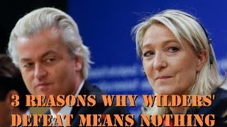 Marine Le Pen unaffected by Geert Wilders' defeat