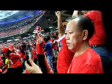 Malaysia Vs Liverpool - 1st Time Ever YNWA In Stadium Bukit Jalil (Asia Tour 2011)