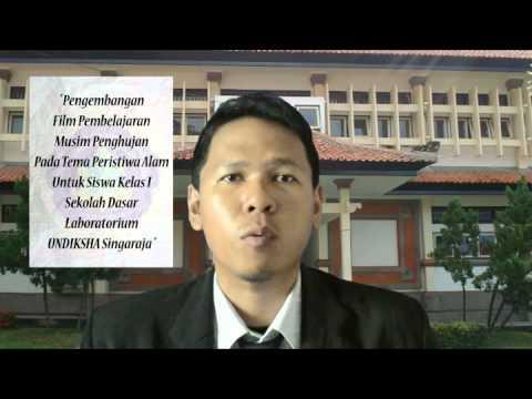 [PTI - 3 Minutes Final Presentation] 1215057007 I Ketut Juni Sugiarsana