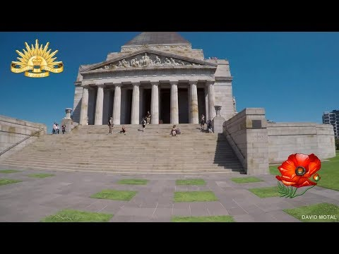 Shrine of Remembrance War Museum Melbourne Australia 2018