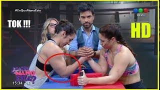 Video: [No apto para sensibles] Se quebró el brazo mientras competía en un programa de televisión.