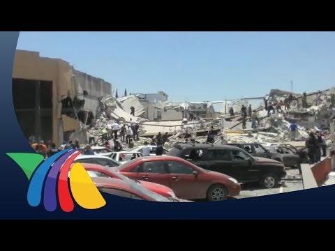 Explosión en plaza comercial dejó 3 muertos en Reynosa   Noticias de Reynosa