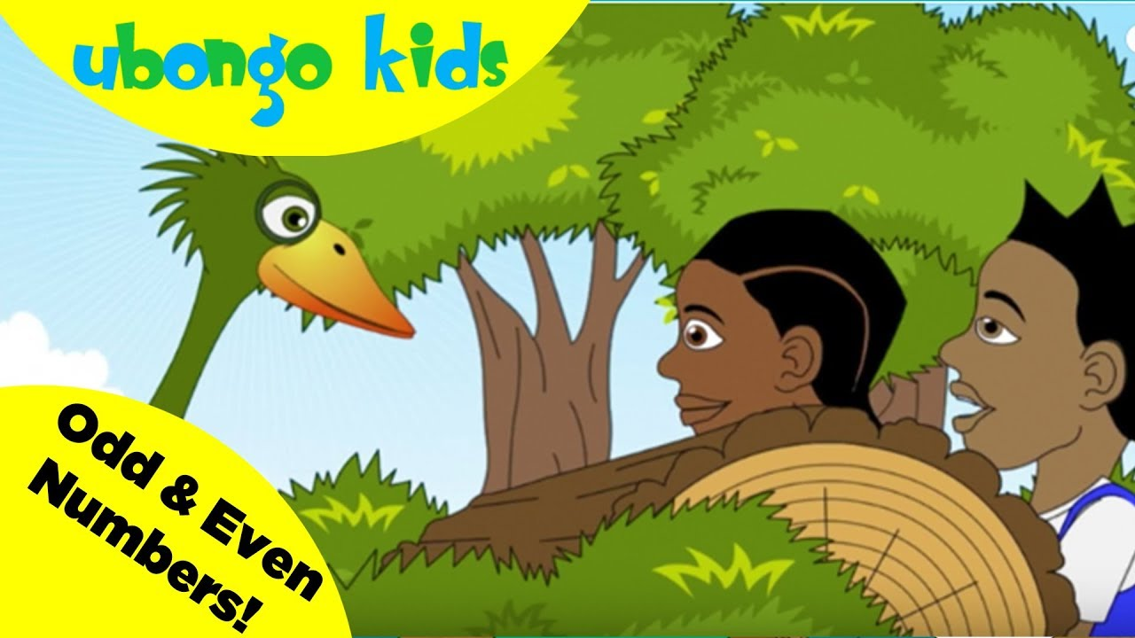 Even and Odd Numbers | Ubongo Kids Math Songs | African Educational Cartoons