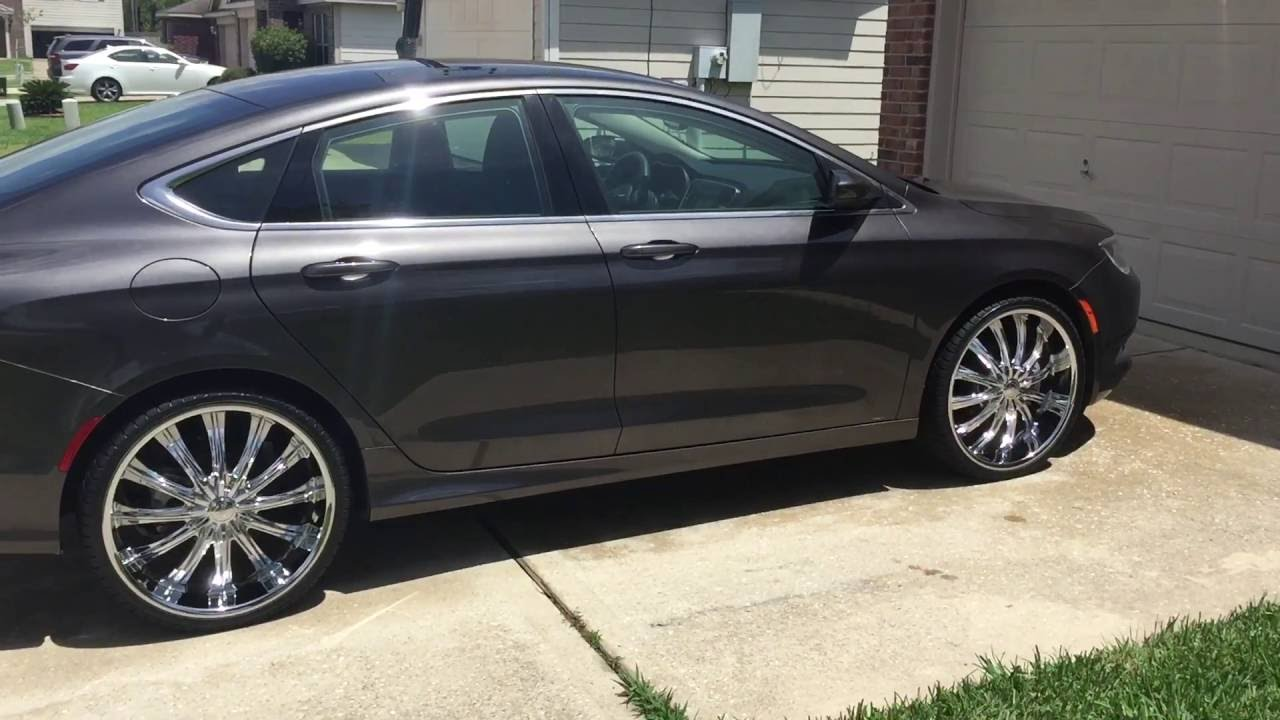 2016 Chrysler 200 On 22s Youtube