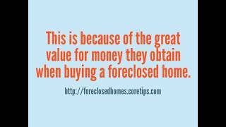 Bank Foreclosed Homes