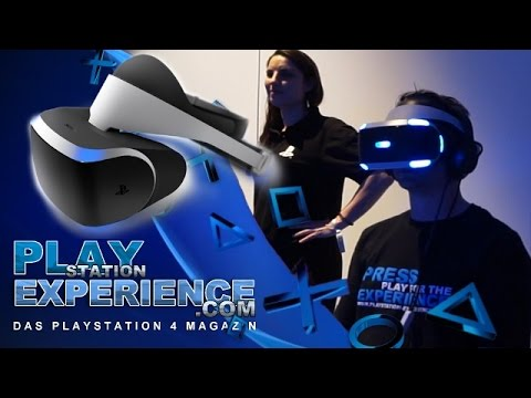 Playstation Experience München 2016 / VR Sony Brille / PSXMUC