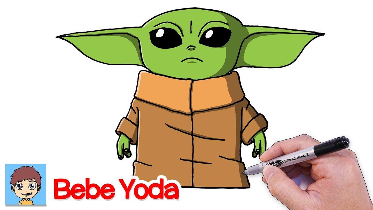Comment Dessiner Bebe Yoda Facilement The Mandalorian Dessin Facile