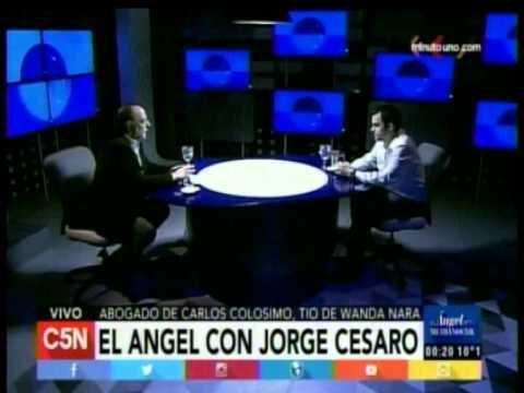 C5N - El Angel de la Medianoche: Entrevista a Jorge Cesaro (Parte 1)