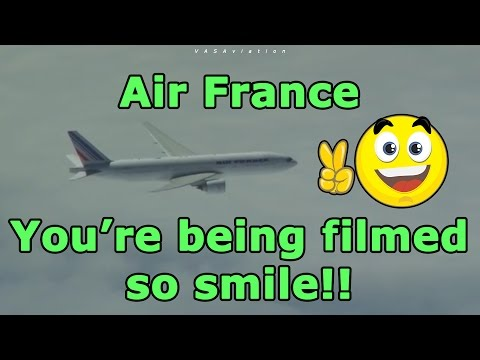 FUNNY EXCHANGE between Air Canada and Air France