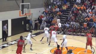Lancaster McCaskey vs. William Penn (York) - basketball highlights- districts - 2012