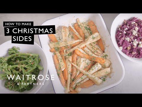 3 Christmas Vegetable Sides | Waitrose