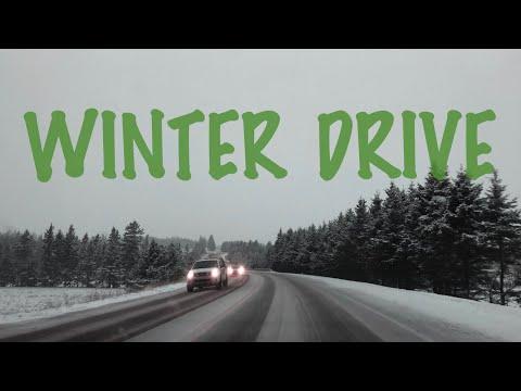 First winter drive at Charlottetown (Apurva Patel)