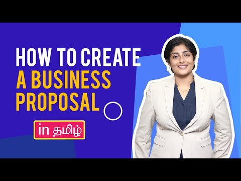 How to write Business proposals (Step by step in Tamil) - for Digital Marketing agencies