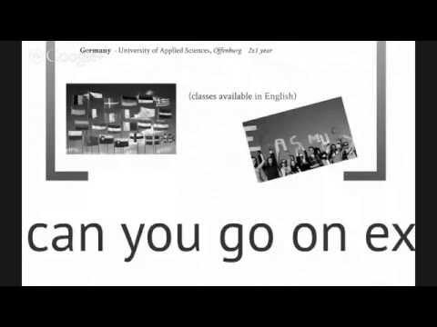 Digital Media & Creative Computing Global Study abroad meeting