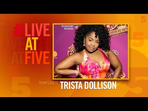 Broadway.com #LiveatFive with Trista Dollison of CHARLIE AND THE CHOCOLATE FACTORY