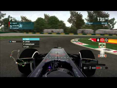 F1 2013 - F1 Team PS3 - Melbourne 100% - No Assists