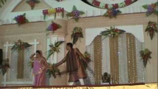 Indian Wedding Dance Video- Ladies Sangeet Sandhya Dulha dulhan - Tere Hath Mein Song