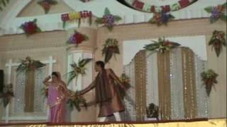 Indian Wedding Dance Video- Ladies Sangeet Sandhya Dulha dulhan - Tere Hath Mein Song