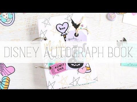 disney autograph book | the fairytale club
