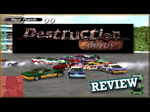 Destruction Derby - PS1 - with Commentary !!